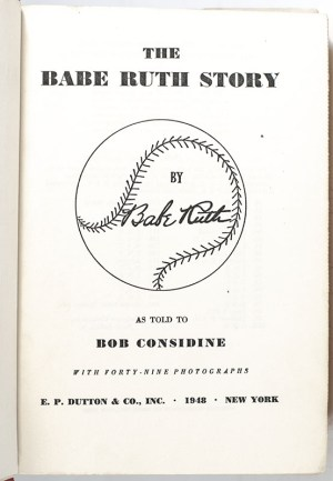 The Babe Ruth Story.