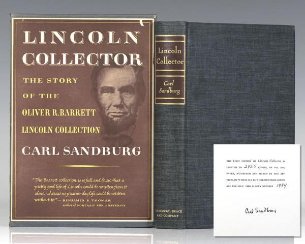 Lincoln Collector: The Story of Oliver R. Barrett's Great Private Collection.