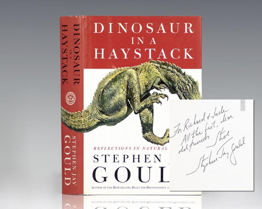 Dinosaur in a Haystack.