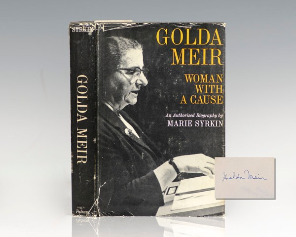 Golda Meir: Woman With A Cause.