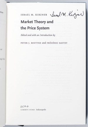 Market Theory and the Price System.