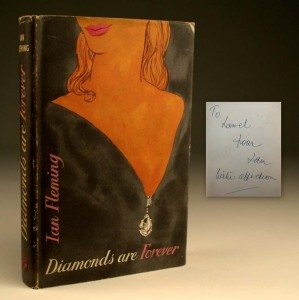 Diamonds are Forever First Edition Dust Jacket