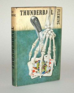 James Bond Thunderball First Edition Dust Jacket