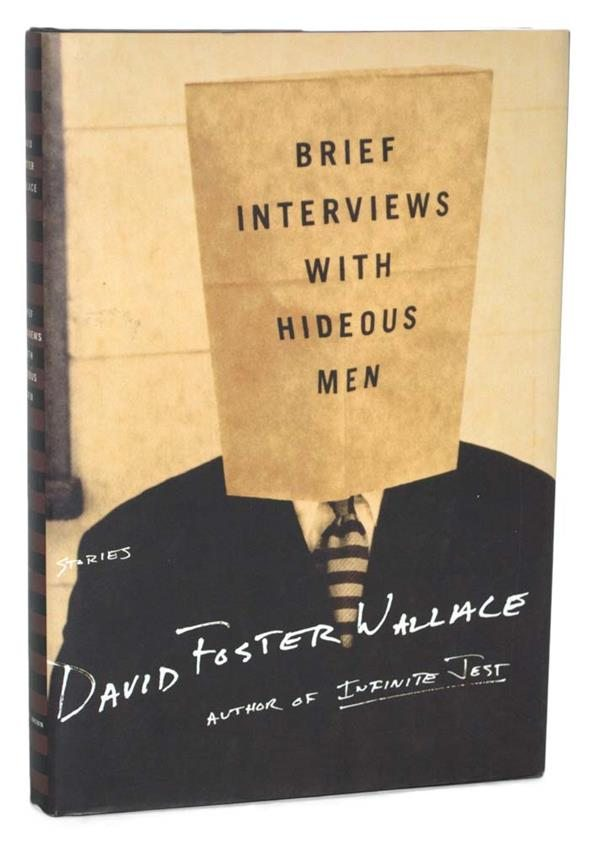 Brief Interviews with Hideous Men by David Foster Wallace Rare Signed First Edition