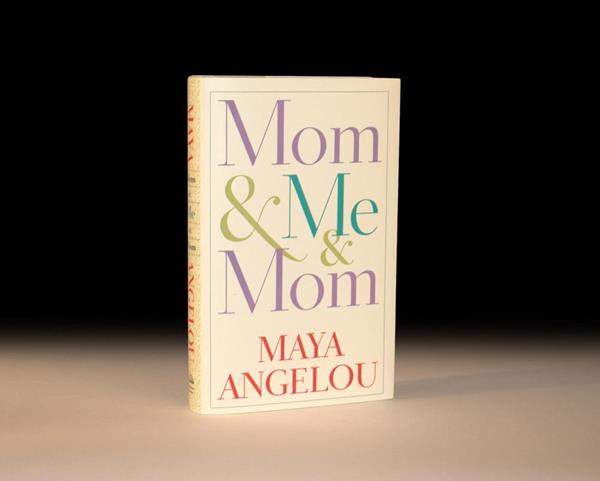 Mom & Me & Mom by Maya Angelou Rare First Edition
