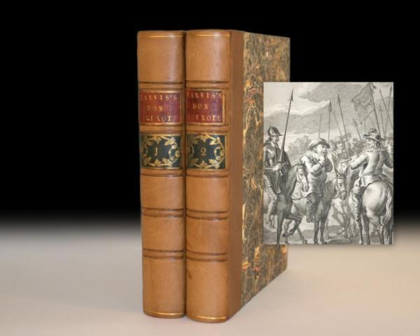 Don Quixote de la Mancha by Saavedra Cervantes Rare First Edition Collection