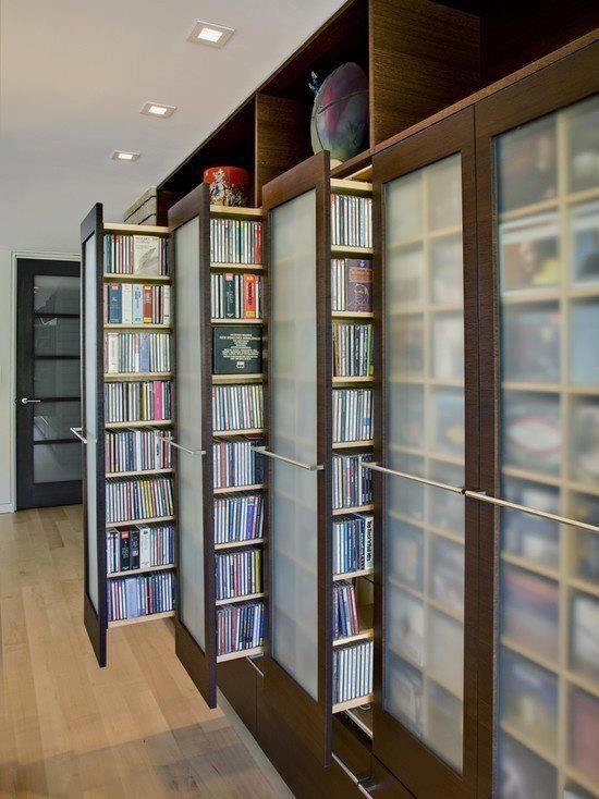 unusual book storage