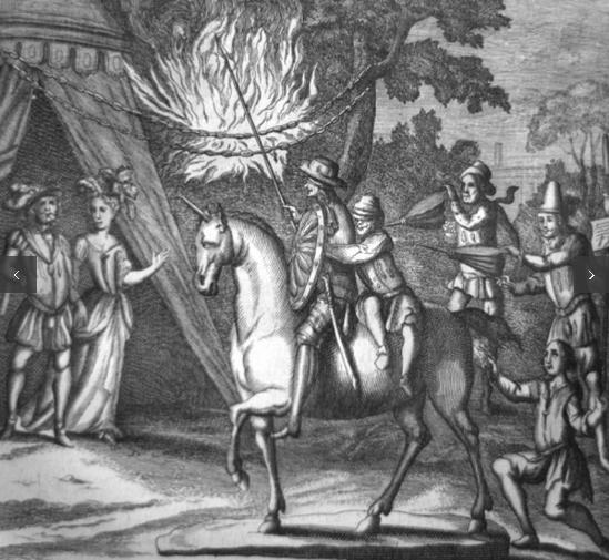 rare first edition of Don Quixote