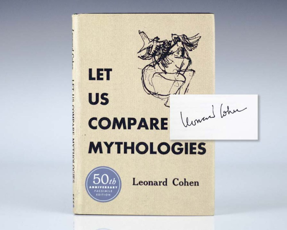 Early printing of the 50th Anniversary edition of Cohen's first book; signed by him on the title page