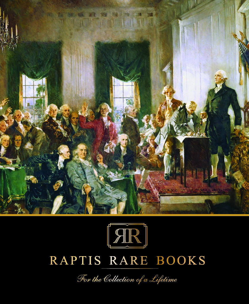 Raptis Rare Books Spring 2020 Catalog