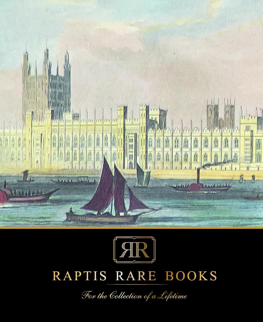 Raptis Rare Books Summer 2021 Catalog