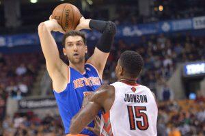 Knicks Raptors Basketball