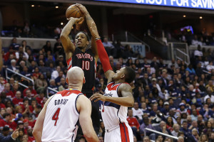 NBA: Playoffs-Toronto Raptors at Washington Wizards