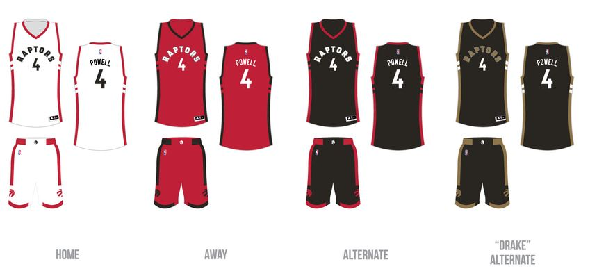 classic fit 38189 f50f5 Toronto Raptors official jerseys finally leak