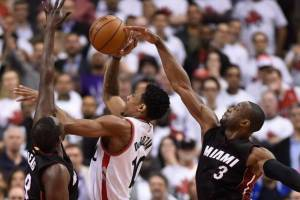 DEROZAN OVER HEAT IN GAME 1