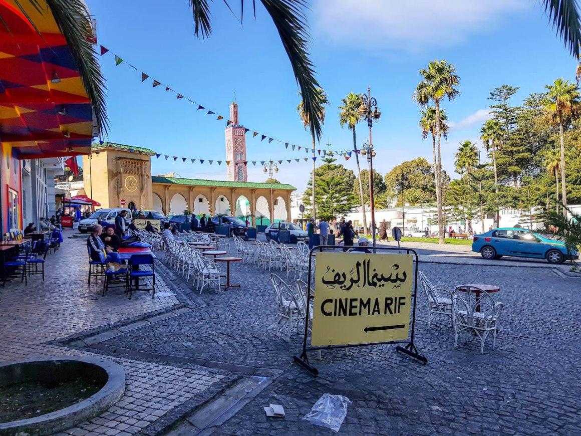 Vierkant in Tanger.