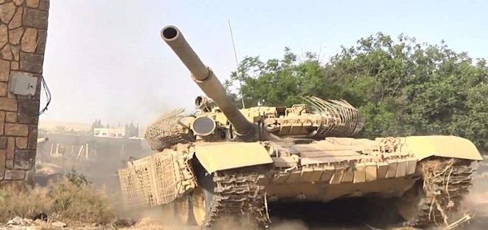 Assad's militias and Raqqa's eastern countryside