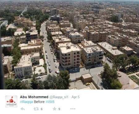 """Raqqa is Being Slaughtered Silently/Twitter """"Raqqa prior to being under control of Islamic State fighters"""""""