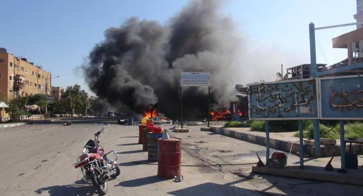 Tabqah city is under siege