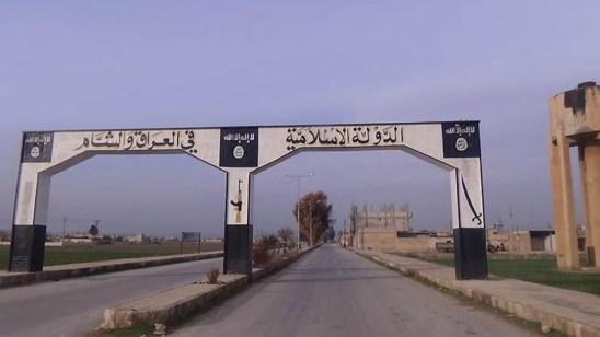 Entrance of Jarablus city