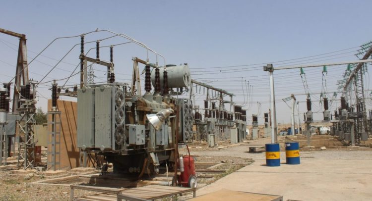 كهرباء الرقّة خدمة مفقودة
