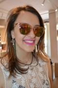 Marcela Morais e seus novos óculos