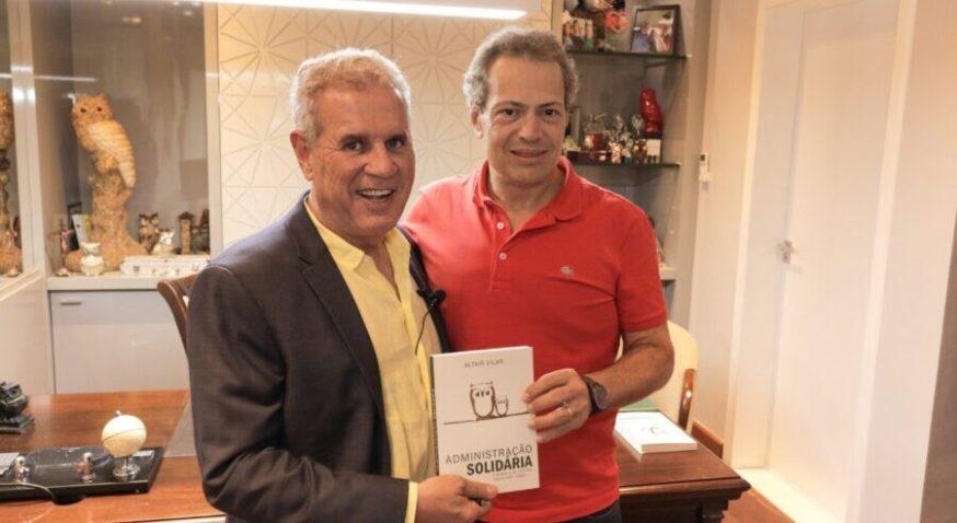 Eugênio De Zagottis, Vice-presidente do Grupo RD, e Altair Vilar, Presidente do Grupo Cartão de TODOS
