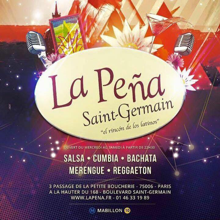Pena Saint Germain -bar salsa Paris