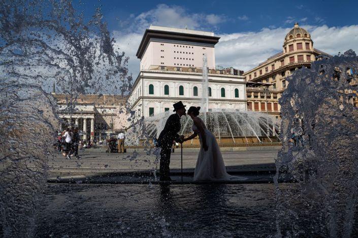 Fotografia di post matrimonio genova