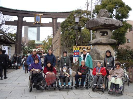 201501初詣富岡八幡宮
