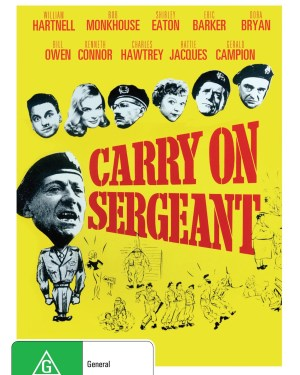 Carry On Sergeant Rare & Collectible DVDs & Movies