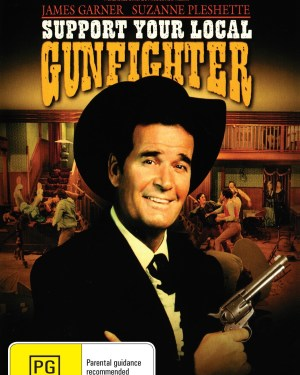 Support Your Local Gunfighter Rare & Collectible DVDs & Movies