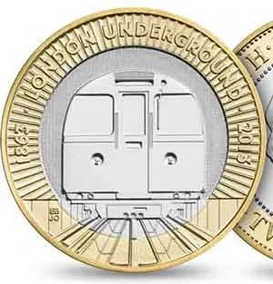 Underground 2 Pound Coin