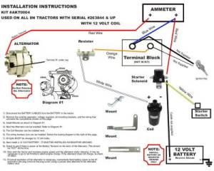 New Generator Alternator Conversion Kit Late Model Ford 8N