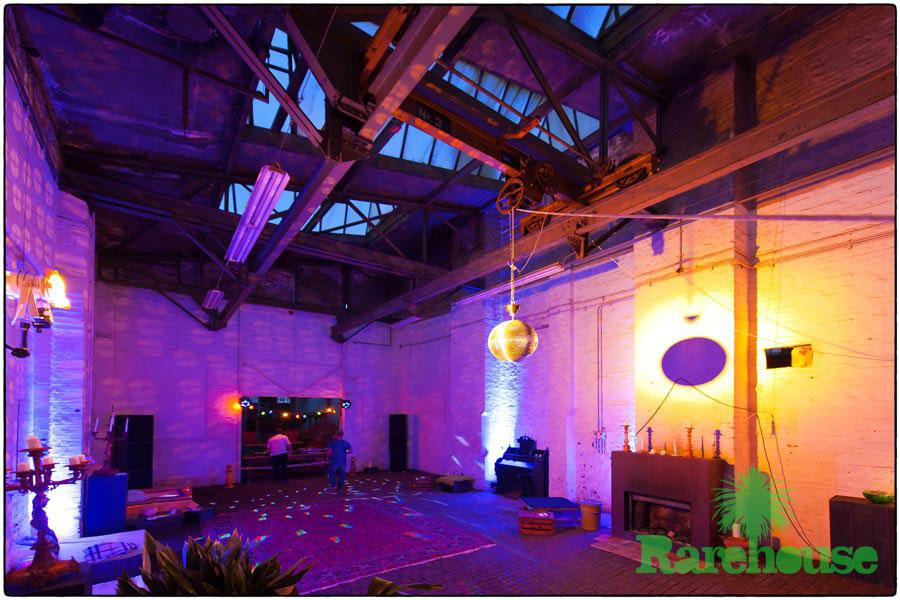 … die erste Party im Rarehouse !