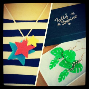 My Tatty Devine swaps!
