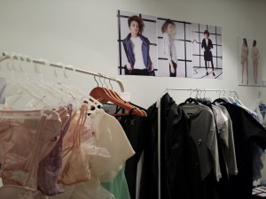 LCF BA Fashion Contour graduates' work on display at Collective 205