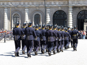 Changing of the Guard, Stockholm. Photo by lipsticklori