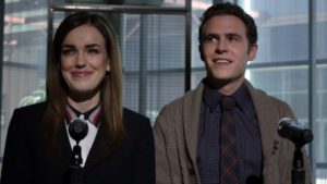Leo Fitz AND Jemma Simmons in Marvel's Agents of S.H.I.E.L.D.