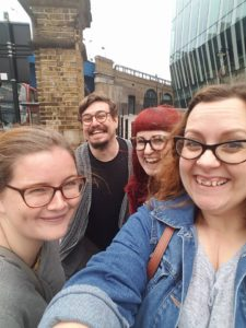 Brunch Club selfie, after our visit to The Table Cafe, SE1