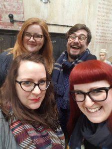 BrunchClub selfie in Dishoom King's Cross