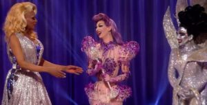 Violet Chachki being crowned the winner of season 7