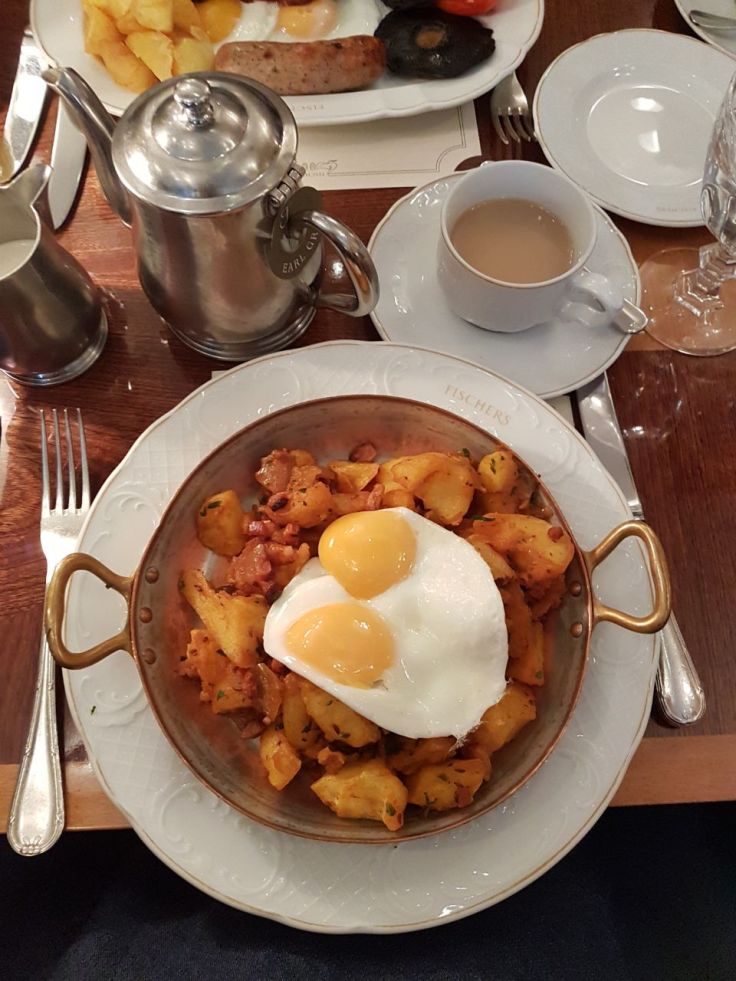 Eleanor's Classic Bacon Gr�stl at Fisher's