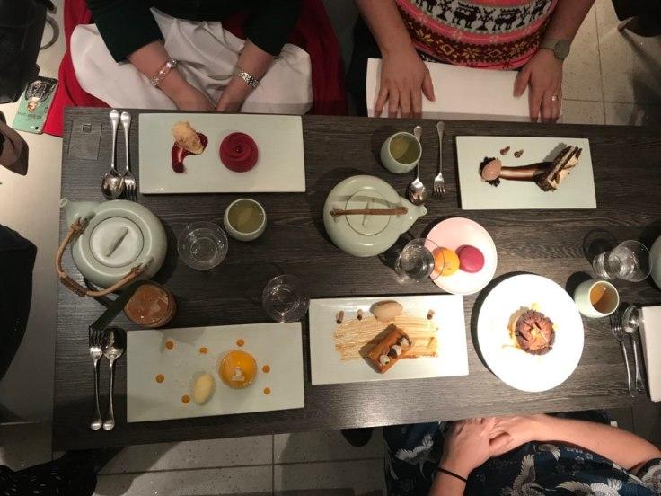 Brunch Club's tea and dessert at Yauatcha, Soho