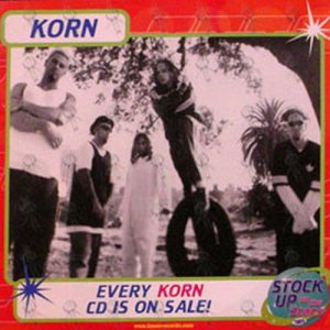 KORN - Tower Records CD Sale Promo 12 Inch Flat - 1