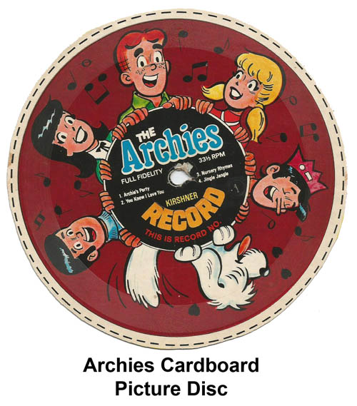 archies cereal picture disc