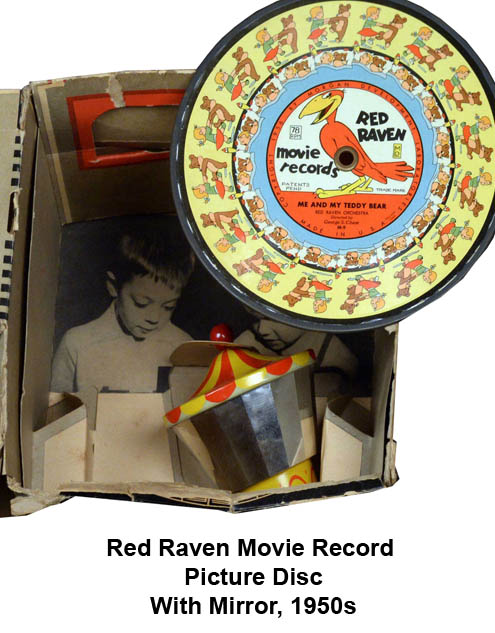 red raven children's picture disc