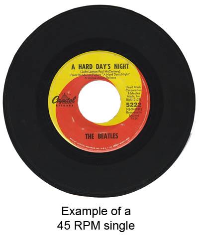 45 RPM single