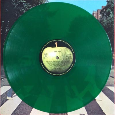 abbey road green vinyl