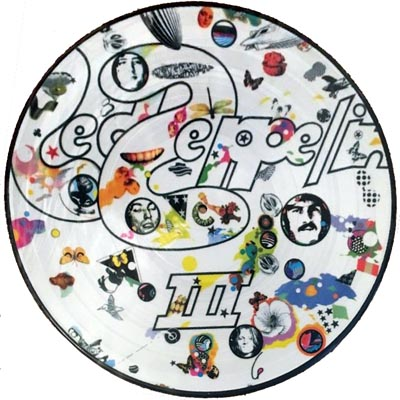 Led Zeppelin pirate picture disc